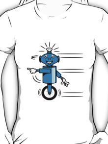 Robot funny cool fast funny dick comic T-Shirt