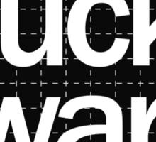 Fuck War Sticker
