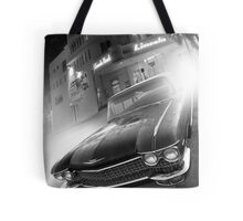 Cadillac at the Lincoln Tote Bag