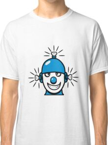 Funny cool wheels pears comic funny robot Classic T-Shirt