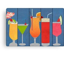 Fruit Drinks Canvas Print
