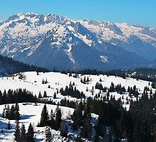 Panorama of Austrian Alps by ak4e