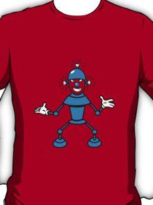 Robot funny cool light up comic fun T-Shirt