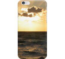 sunset on the sea iPhone Case/Skin