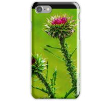 Budding Thistle iPhone Case/Skin