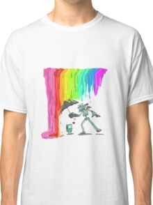 Robo Rainbow Respite Classic T-Shirt