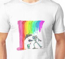 Robo Rainbow Respite Unisex T-Shirt