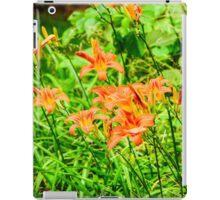 Daylilies - Tiger Lilies iPad Case/Skin