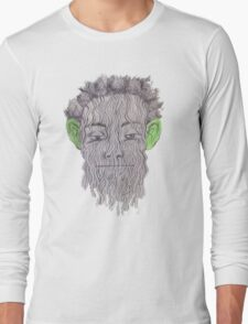 True Detective - 'Green Eared Spaghetti Monster' Long Sleeve T-Shirt