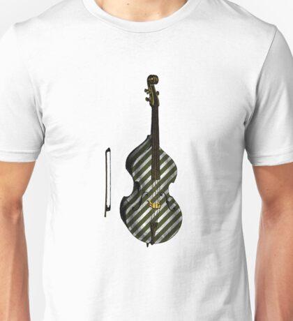 Upright Bass Vintage Illustration Unisex T-Shirt