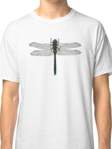 Dragonfly Vintage Illustration Classic T-Shirt