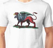 Vintage Griffin Illustration Unisex T-Shirt