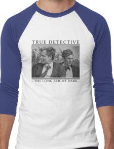 True Detective - 'The Long Bright Dark' Men's Baseball ¾ T-Shirt