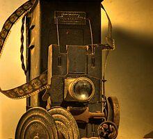 Forgotten Projector by Steven Klimasewski