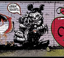 Crak tours- Street art from Bristol by Tim Constable