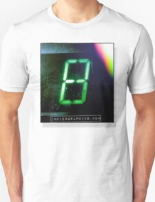 Green Digital Indie 8 Graphics T-Shirt