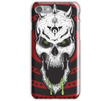 Psychosolution-pyschedelic skull iPhone Case/Skin