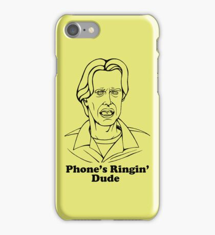 Phone's Ringin' Dude iPhone Case/Skin
