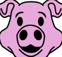 In bacon we trust Sticker