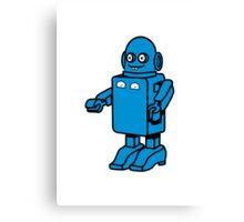 Robot funny cool design funny cartoon Canvas Print