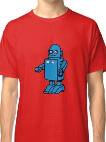 Robot funny cool design funny cartoon Classic T-Shirt