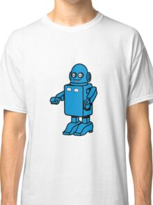 Robot funny cool design funny cartoon Classic T-Shirt