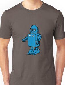 Robot funny cool design funny cartoon Unisex T-Shirt