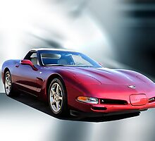 2002 Chevrolet Corvette Convertible I by DaveKoontz