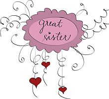 Great sister by ywanka