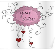 Great sister Poster