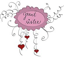Great sister Photographic Print