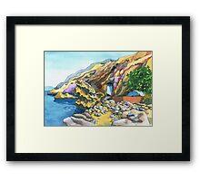 Vlicha Bay Framed Print