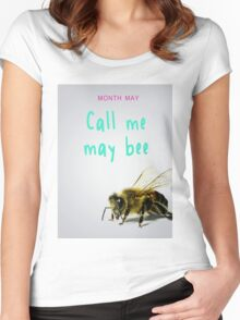 call me maybe Women's Fitted Scoop T-Shirt