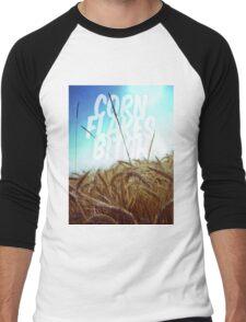 cornflakes bitch Men's Baseball ¾ T-Shirt