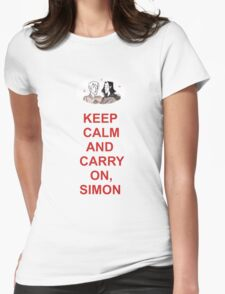 Fangirl - Simon Snow Womens Fitted T-Shirt