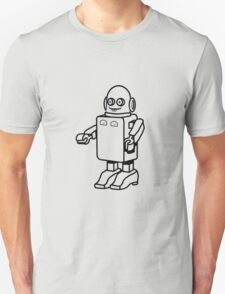 Robot funny cool design funny cartoon T-Shirt