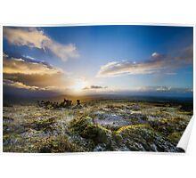 Moorland Sunrise Poster