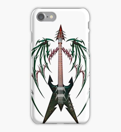 Heavy Metal Guitar  iPhone Case/Skin