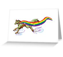 make your own rainbow Greeting Card