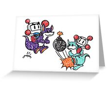 Bomberman  Greeting Card