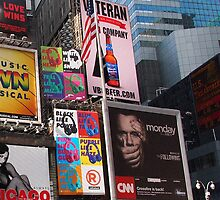 New York Times Square Billboards 2 by silvianeto