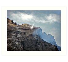 Mount Etna (relatively dormant stage) Art Print