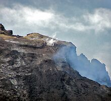 Mount Etna (relatively dormant stage) by Nancy Richard