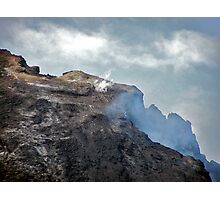 Mount Etna (relatively dormant stage) Photographic Print