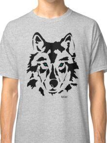 RAW WOLF STENCIL TEE Classic T-Shirt