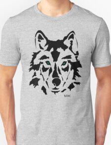 RAW WOLF STENCIL TEE T-Shirt