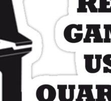 Arcade Quarters Sticker