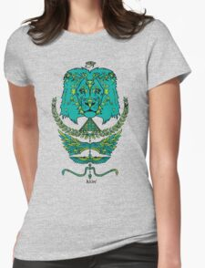 RAW LION TOTEM TEE Womens Fitted T-Shirt