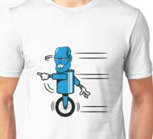 Robot monster funny cool fast funny comic Unisex T-Shirt