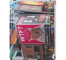 New York Times Square Billboards 3 iPad Case/Skin